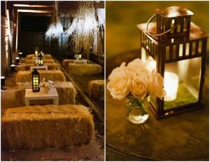 Hochzeit Laterne Dekor