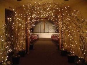 Hochzeit Dekor