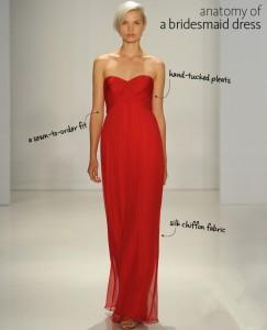 Rotes langes Herz Ausschnitt Abendkleid