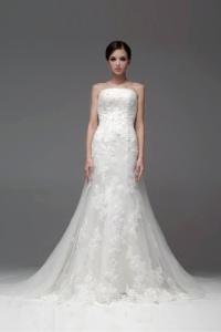 Schönes Meerjungfrau Ivory Brautkleider