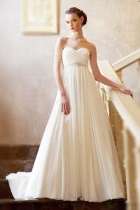 Elegantes Ivory Sweetheart Brautkleider