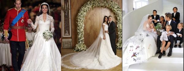 Promis Hochzeitskleider-Spitze Marke von Chanel gekauft ...